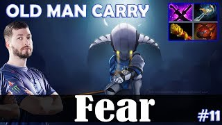 Fear - Sven Safelane | OLD MAN CARRY 7.19 Update Patch | Dota 2 Pro MMR Gameplay #11