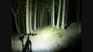 Hitting the trails at night