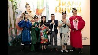 Đức Thịnh dẫn vợ bầu Thanh Thúy đi họp báo phim Trạng Quỳnh