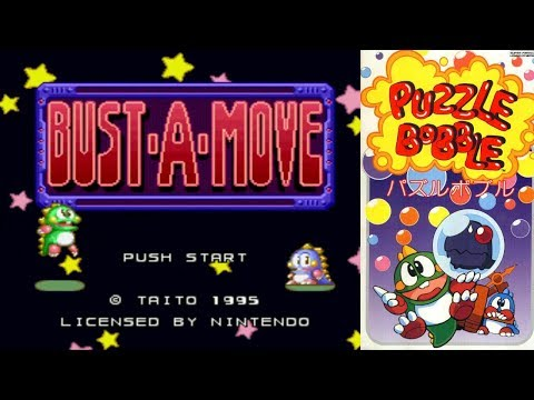 Retrocasameva #13 - Bust-a-Move (Puzzle Bobble) [SNES]