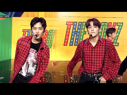 뮤직뱅크 Music Bank - RIGHT HERE - THE BOYZ.20180907