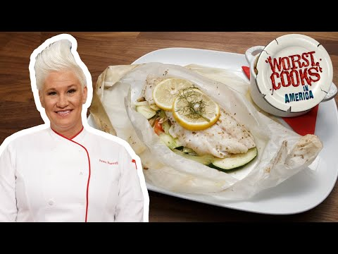 How to Make Branzino en Papillote with Anne Burrell | Worst Cooks in America