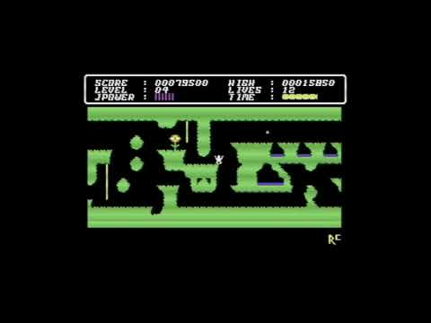 Videojuegos Commodore 64: Cave Fighter (Bubble Bus, 1984)