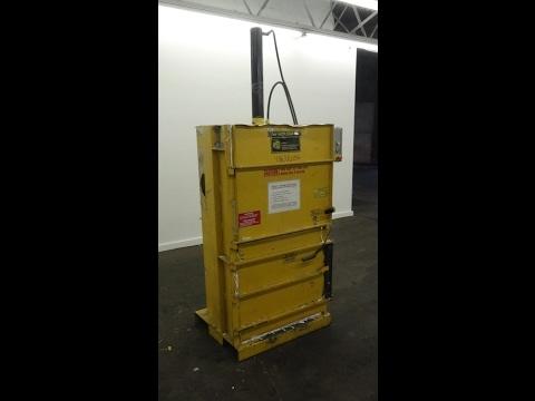 Used- Ver-Tech, Inc. Vertical Mini Baler, Model M-30 - stock # 48638004