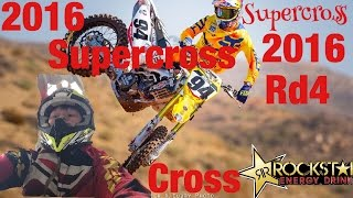 2016 AMA Supercross Rd 4 Oakland