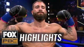 Caleb Plant roughs up Caleb Truax, wins by unanimous decision | HIGHLIGHTS | PBC ON FOX