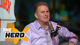 Michael Rapaport in studio to defend Charles Oakley | THE HERD (FULL INTERVIEW)