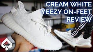 Adidas Cream White YEEZY BOOST 350 v2 Review | ON FEET