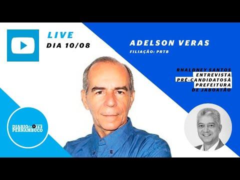 Rhaldney Santos entrevista o pré-candidato à prefeitura de Jaboatão Adelson Veras