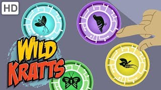 Wild Kratts ⚡ Creature Power Transformation Rewind!   Kids Videos