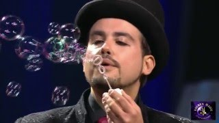 Bubble Show - Marco Zoppi at Golden Magic of XXI° Century