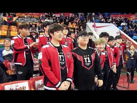 EP56. SKT T1 players joining SK Knights to support them! The second story![T1 CAMERA]