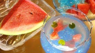Watermelon Goldfish Jello
