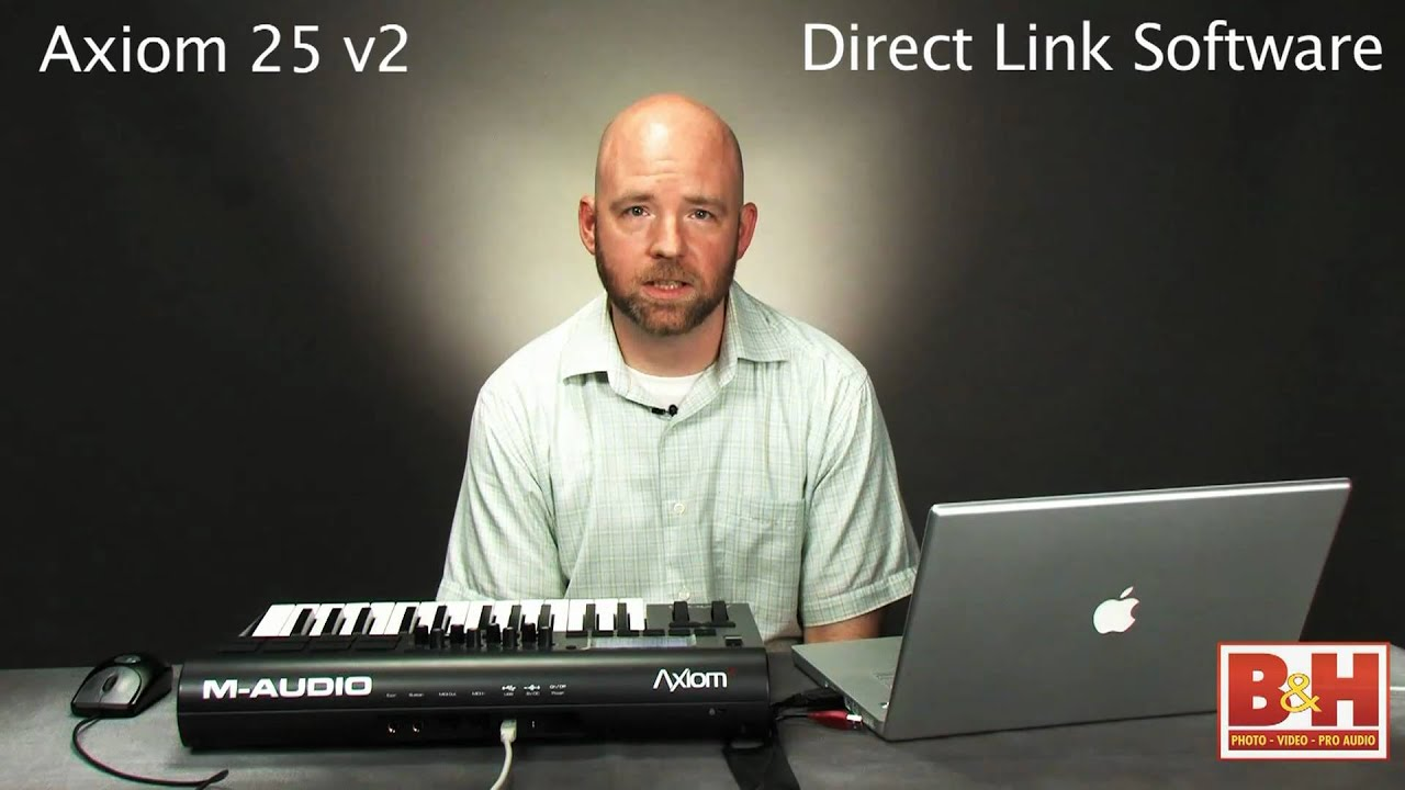 m audio axiom 25 v2 keyboard controller youtube. Black Bedroom Furniture Sets. Home Design Ideas
