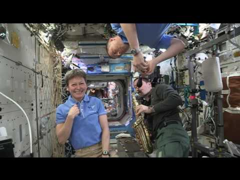 Space Station Crew Members Discuss Life in Space w…