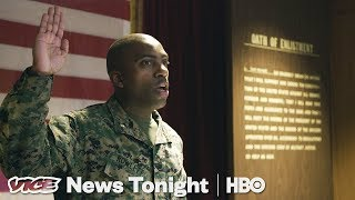 Trump Wants To Beef Up The Military, But Recruiters Are Having Trouble Finding People (HBO)
