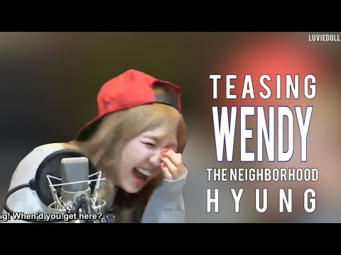 Teasing Wendy (or Wendy sacrificing herself to make others laugh) | Red Velvet Wendy | 레드벨벳 웬디