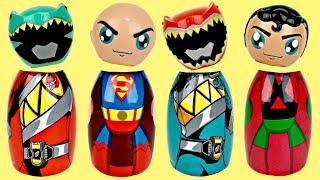 Superhero Body Wash with Power Rangers, Avengers & Toy Surprises