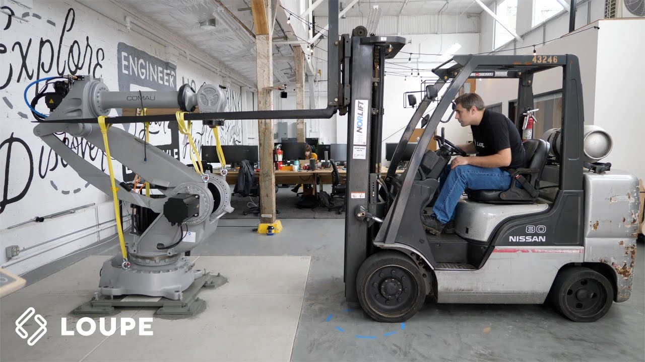 Robot Trailer Loadout
