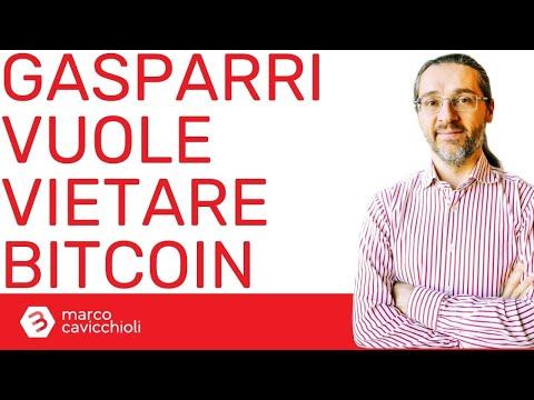 NO, il senatore Gasparri non può vietare Bitcoin in Italia!