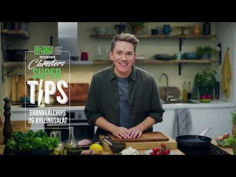 Christers supertips - Grønnkålchips og kyllingsalat