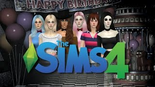 The Sims 4 - Five Nights At Freddy's 2 Girls 2.0 - (Create-A-Sim)