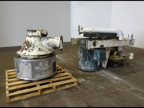 Used- Entoleter Centrifugal Impact Mill, Carbon Steel - stock # 48714002