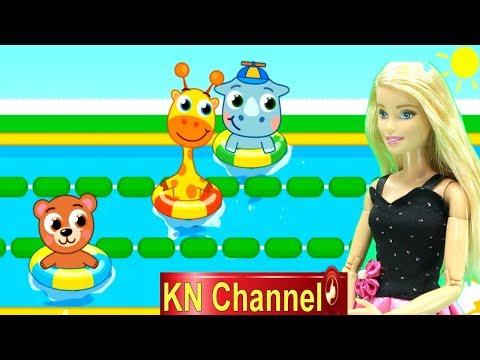 BÚP BÊ KN Channel VÀ 1 NGÀY Ở TRƯỜNG HỌC CỦA GẤU CON