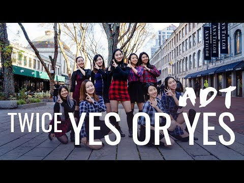 [KPOP IN PUBLIC] [MIT ADT] TWICE - YES OR YES Dance Cover