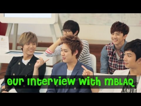 MBLAQ Interview