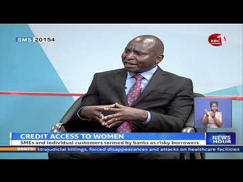 Stawika CEO, Raphael Kimeu on KBC talking about Credit access to women