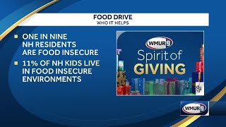 11 percent of NH kids live food-insecure; food drive underway