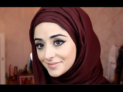 Hijab Tutorial - My Lana Del Rey Inspired Makeup Tutorial