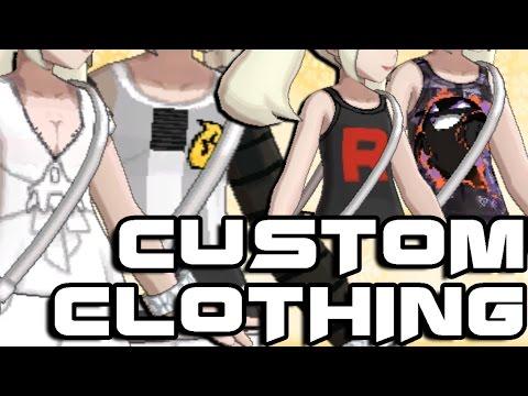 Custom Clothes in Pokémon Sun & Moon! [Download]