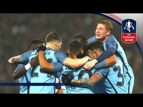 West Ham 0-5 Manchester City - Emirates FA Cup 2016/17 (R3) | Goals & Highlights