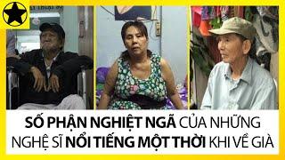 Những Sao Việt Khốn Khó Và Bệnh Tật Khi Về Già
