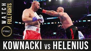 Kownacki vs Helenius FULL FIGHT: March 7, 2020 - PBC on FOX