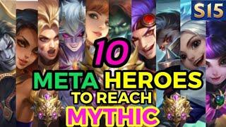 10 META HEROES FOR SEASON 14    Mobile Legends✔