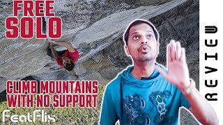 Free Solo (2018) National Geographic Documentary, Sport Movie Review In Hindi | FeatFlix