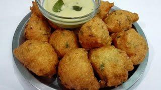 Suji ke Pakode | Suji ki Pakodi || Rava punugulu || Breakfast & South Indian Snack