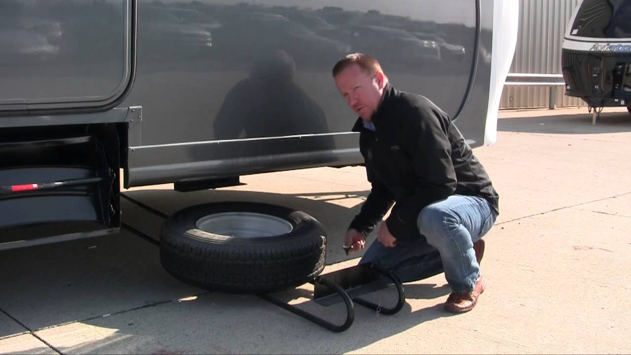 Bal Hide A Spare Eliminates Unsightly Spare Tire From