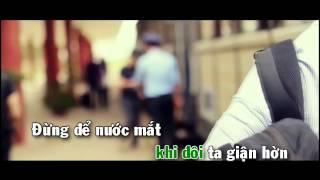 [Karaoke] Lời Anh Muốn Nói - The Men
