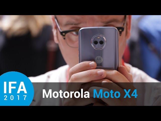 Belsimpel-productvideo voor de Motorola Moto X4