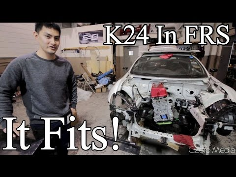 Project Toyonda K86 - MOTOR IS IN! - Supercharged K24 FRS Build Series 3