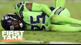 First Take reacts to Richard Sherman's season-ending injury | First Take | ESPN