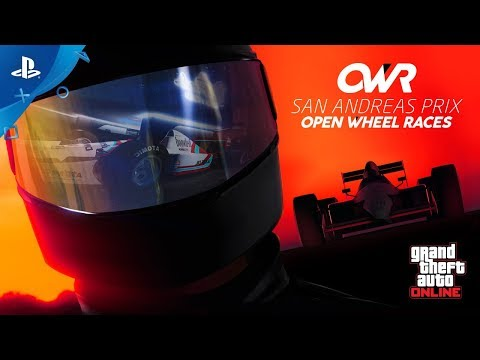 GTA Online | Open Wheel Racing | PS4