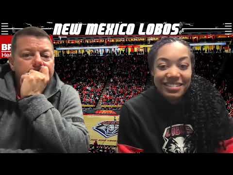 UNM Lobo women's basketball coach Mike Bradbury Zoom call Dec. 29