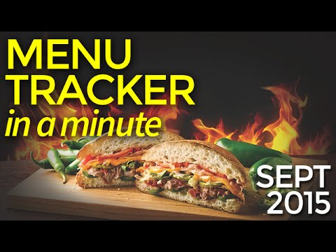 Menu Tracker in a Minute | September 2015 | Nation's Restaurant News