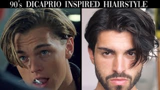Men's Hair | Leonardo DiCaprio Inspired Hairstyle Tutorial