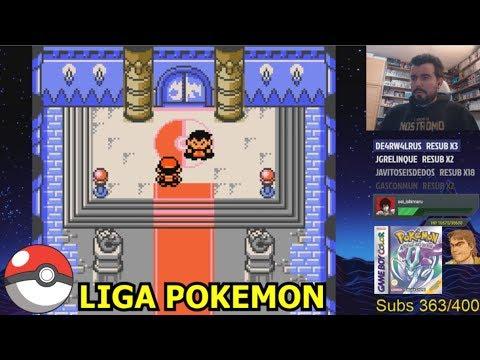 LIGA POKEMON en Pokemon Cristal (GBC) - La batalla final contra LANCE || Gameplay Español
